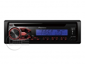 Pioneer DEH-1800UBB Autoradio CD MP3 WMA WAV RDS USB 32GB AUX-IN Preout 200W