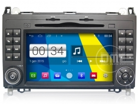 "Mercedes Classe A B Vito Sprinter Viano Android 4.4 Autoradio 7"" Touch DVD GPS"