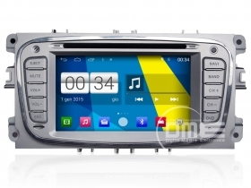"Autoradio Ford Mondeo Focus S-Max Android 4.4 Touch 6,2"" HD DVD GPS BT USB Wifi"