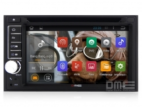 "Autoradio Android 2 Din 6,2"" 1080p HD Capacitivo Touch Navi GPS WiFi BT DVD USB"