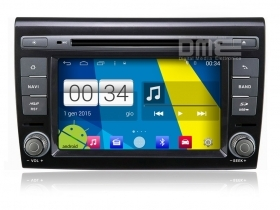 "Fiat Bravo Autoradio 7"" HD Touchscreen Android 4.4 DVD Navi GPS BT USB SD Wifi"