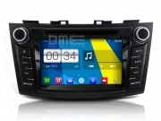 "Suzuki Swift 2012 Autoradio 7"" HD Android 4.4 Touchscreen DVD Navi GPS USB SD BT"