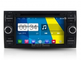 "Ford Kuga Focus Fusion Fiesta 5sr Autoradio 7"" Touch Android DVD Navi GPS BT USB"