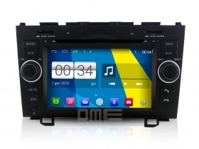 "Autoradio Honda CRV 2006-11 Android 4.4 Touchscreen 7"" HD DVD Navi GPS BT USB SD"