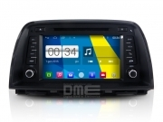 "Autoradio Mazda CX-5 Android 4.4 Touchscreen 8"" HD DVD Navi GPS BT USB SD Wifi"