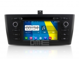 "Autoradio BMW serie 1 E8X 2004-12 Android 4.4 Touchscreen 6.2"" HD DVD GPS BT USB"