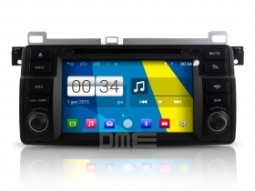 "Autoradio BMW serie 3 E46 M3 Rover 75 MG ZT Android 4.4 Touch 7"" USB DVD GPS BT"