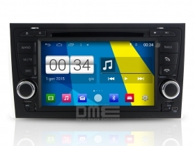 "Autoradio Audi A4 2002-07 Android 4.4 Touch 7"" HD DVD Navi GPS BT USB iPod Wifi"