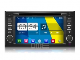 "Autoradio Subaru Forester 2008-13 Android 4.4 Touch 7"" HD DVD GPS USB SD BT Wifi"