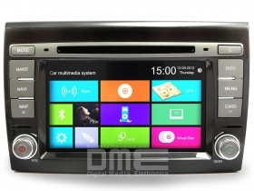 "Autoradio Fiat Bravo Touchscreen 7"" HD BT DVD MP3 GPS Navigatore USB SD Blu&Me"