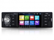 "Autoradio 1 din 4.1"" TFT touchscreen 64GB USB+SD Mp4 1080p BT RDS AUX-IN Camera"