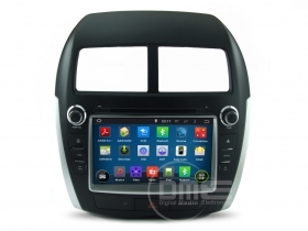 "Autoradio Mitsubishi ASX Citroen C4 Aircross 2015 ANDROID 8"" HD Touch DVD GPS BT"