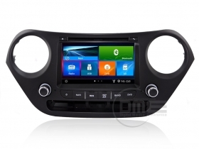"Autoradio Hyundai i10 7"" HD 1080P Touch Navigatore GPS DVD BT USB SD MirrorLink"