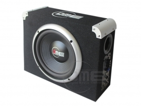 "Subwoofer 10"" attivo BX110-188A BOX amplificato bass BOOMBOX 1800W Extra Power"