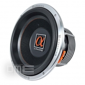 "DME Alphasonik PSW612E Woofer Subwoofer 12"" 32 cm 2000 Watt 100 Oz Dual VC SPL"