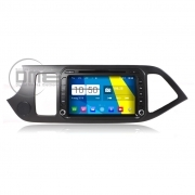"Autoradio Kia Picanto Android 4.4 Touch 8"" Full HD DVD GPS Navi USB SD WiFi"