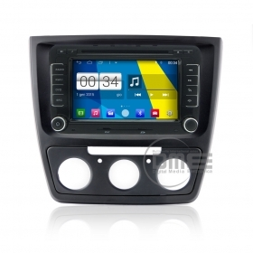 "Autoradio Skoda Yeti Android 4.4 Touchscreen 7"" DVD Navi GPS USB SD BT WiFi"