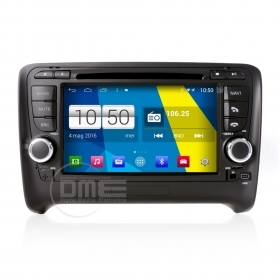 "Autoradio Audi TT Android 4.4 Touchscreen 7"" HD DVD Navi GPS BT USB 1080p Wifi"