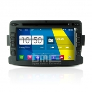 "Dacia Duster Autoradio 7"" HD Touchscreen Android 4.4 DVD Navi GPS BT USB SD Wifi"