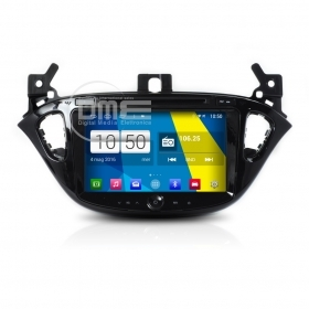 "Autoradio Opel Corsa 2015 Android 4.4 Touch 8"" Full HD DVD GPS Navi USB SD WiFi"