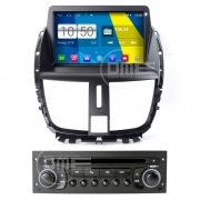 "Autoradio Peugeot 207 Android 4.4 Touchscreen 8"" HD DVD Navi GPS USB BT WiFi SD"