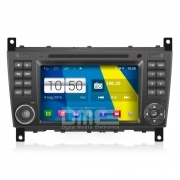 "Autoradio Mercedes W203 Classe C, CLC, G Android 4.4 Touch 7"" HD DVD GPS BT USB"