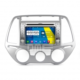 "Autoradio Hyundai i20 2012-15 Android 4.4 Touch 6.2"" HD DVD Navi GPS BT SD Wifi"