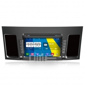 "Autoradio Mitsubishi Lancer Android 4.4 Touch 8"" HD DVD Navi GPS BT USB SD Wifi"