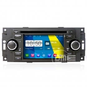 "Autoradio Chrysler 300C 2012 Android 4.4 Touchscreen 5"" HD DVD Navi GPS BT Wifi"