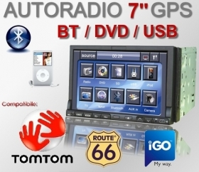 2 Din AUTORADIO 7 BLUETOOTH NA