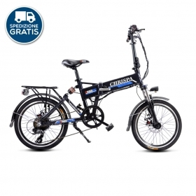 Bici elettrica Folding Bike Chrispa v2.0 250W 36V