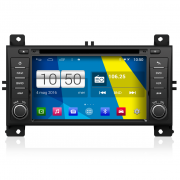"Autoradio Jeep Grand Cherokee Android 4.4 Touch 7"" HD DVD Navi GPS BT USB Wifi"