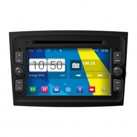 "Autoradio Fiat Doblo 2015 Android 4.4 Touch 7"" HD DVD Navi GPS BT USB SD Wifi"