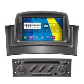 "Autoradio Android 4.4 Renault Megane 2 2002-08 Touch 7"" HD DVD Navi GPS BT Wifi"