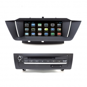 "Autoradio Android BMW X1 E84 9"" Full HD Touch DVD Navi GPS USB SD BT WIFI 1080px"