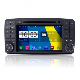 "Autoradio Mercedes classe R Android 4.4 Touch 8"" HD DVD Navi GPS BT USB SD Wifi"