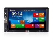 "Autoradio Doppio 2 Din 7"" FHD 1080p Touchscreen NO DVD Mp5 USB SD BT MirrorLink"