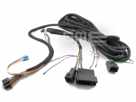 Mercedes power cable fiber opt