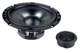 Sistema a 2 vie  woofer 165 mm