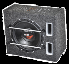 Subwoofer 250 mm. in cassa reflex   1 x 4 Ohm 150 W RMS