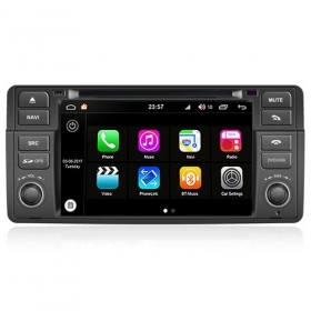 "Autoradio BMW Serie 3 E46 M3 Rover 75 MG Z 1998-2006 Android 8.0 Touch 7"" S200"
