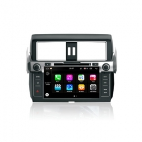 "Autoradio Toyota PRADO 2014  Android 8.0 Touch 9"" HD DVD GPS Bluetooth WIFI S200"