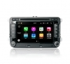 "Autoradio Volkswagen Golf/Seat Skoda 2003-16 Android 8.0 Touch 7"" HD GPS BT S200"