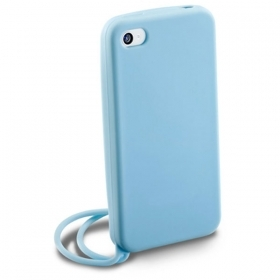 CUSTODIA DA POLSO PER APPLE IPHONE 4S + PENNINO CELLULAR LINE HANDYCIPHONE4SB BLUE
