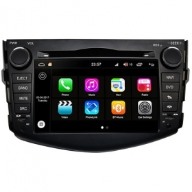 "Autoradio Toyota RAV4 2005–2012  Android 8.0 Touch 7"" HD DVD GPS USB WIFI S200"