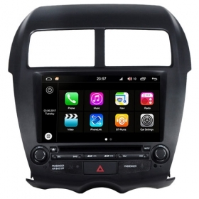 "Autoradio Mitsubishi  ASX 2011  Android 8.0 Touch 8"" HD DVD GPS BT WIFI S200"