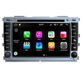 "Autoradio Kia Forte/Cerato 2010 Android 8.0 Touch 8"" HD DVD GPS BT WIFI S200"