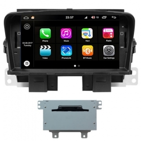 "Autoradio Chevrolet Cruze 2008-12 Android 8.0 Touch 7"" HD DVD GPS BT WIFI S200"