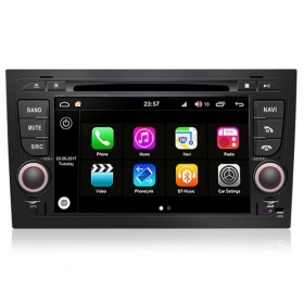 "Autoradio Audi A4 2002-07 Android 8.0 Touch 7"" HD DVD GPS Bluetooth WIFI S200"