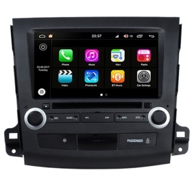 "Autoradio Mitsubishi Outlander 2006-11 Android 8.0 Touch 8"" HD DVD GPS WIFI S200"